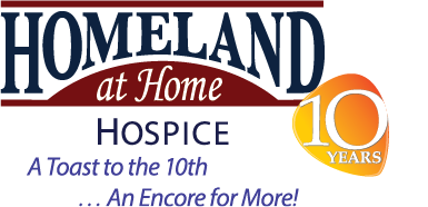Homeland At Home 10th Anniversary Logo